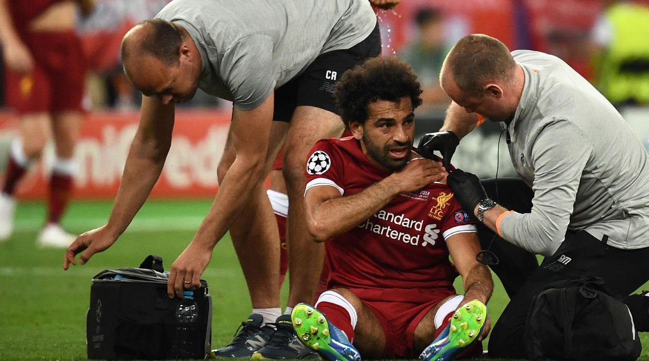 Mohamed Salah Injury Liverpool Star Hurt World Cup In