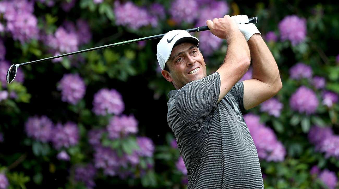 Francesco Molinari ran away from the field on Sunday to win the BMW PGA.