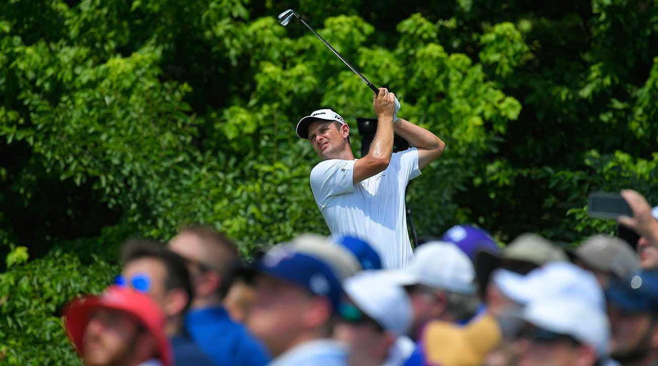 The Fort Worth Invitational was Justin Rose's to lose on Sunday, and he didn't let up.