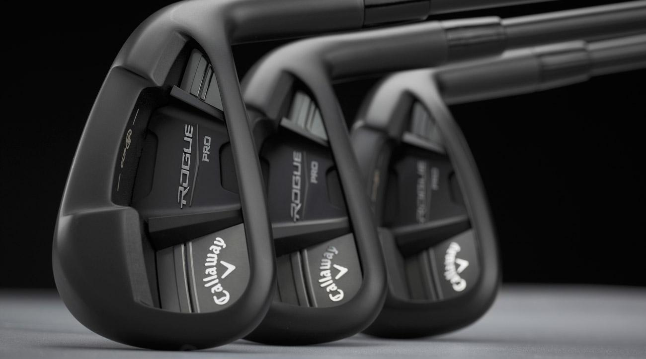 Callaway's new Rogue Pro Black irons