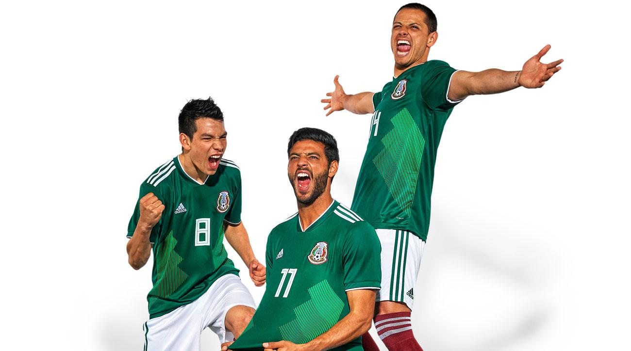 Mexico will represent North America at the 2018 World Cup