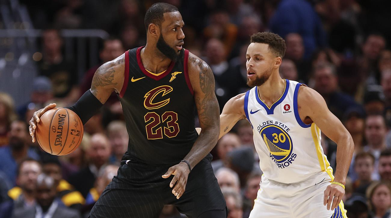 LeBron James vs. Stephen Curry