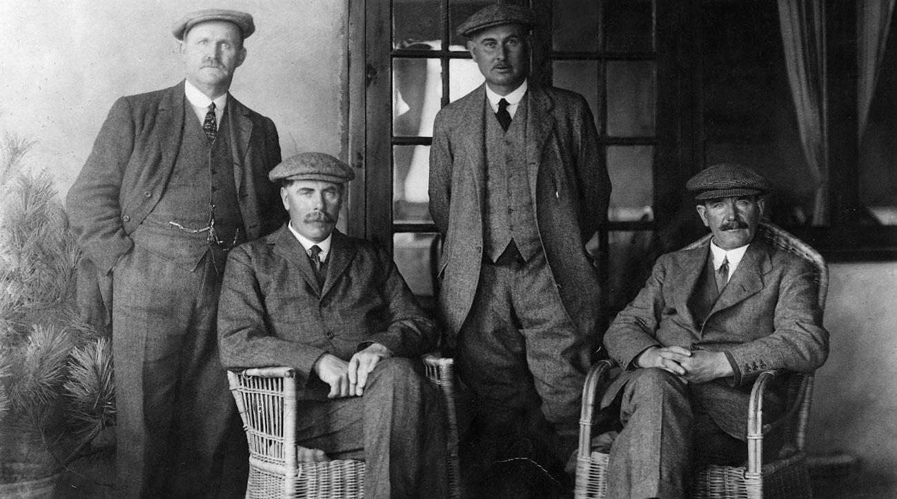 Great golfers from a bygone era