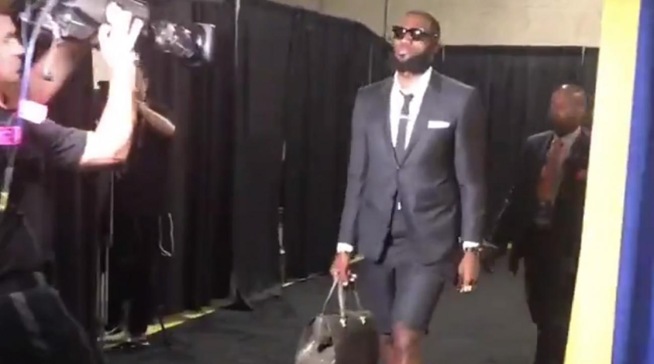 LeBron-James-wears-shorts-Game-1