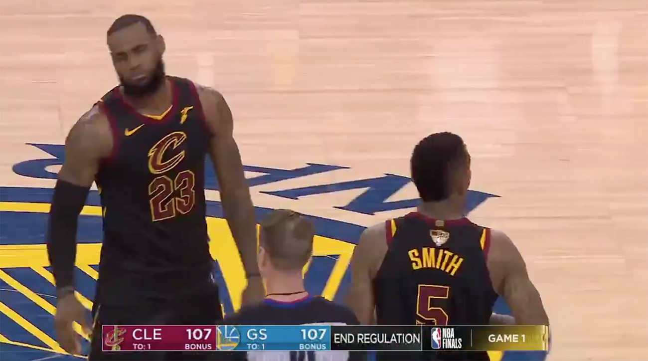 9e1e6ffa409 J.R. Smith mistake video: Cavs explains Game 1 messup | SI.com