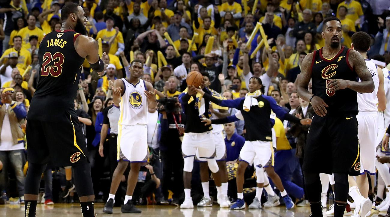 J.R. Smith s Late-Game Blunder Allows Warriors to Take Game 1 33766438e