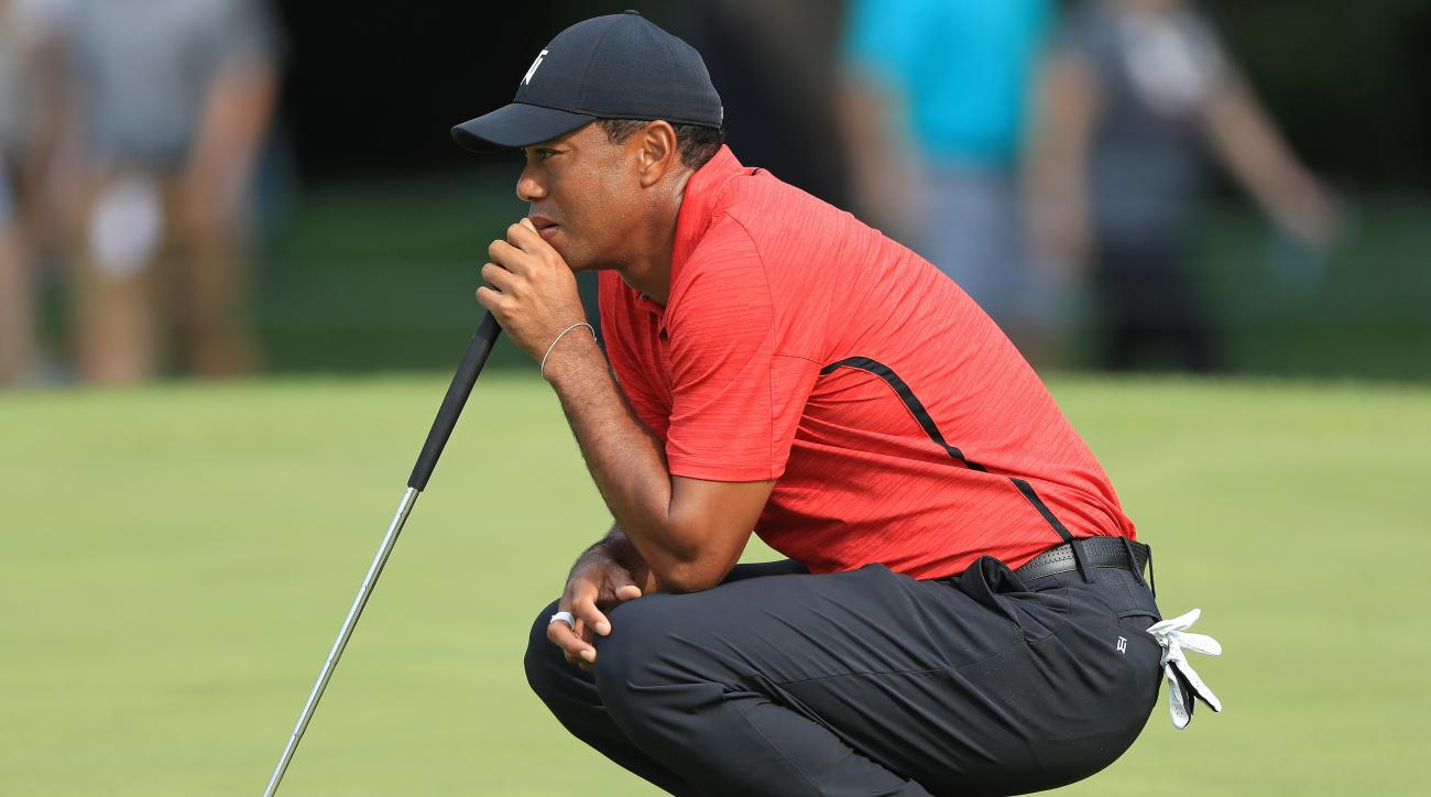 Tiger Woods sunday memorial score recap highlights