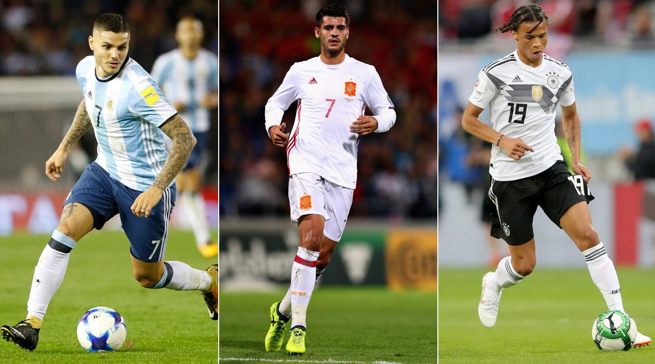 5c75b7928 Top World Cup Snubs: Stars From Qualified Nations Missing Out on Russia 2018