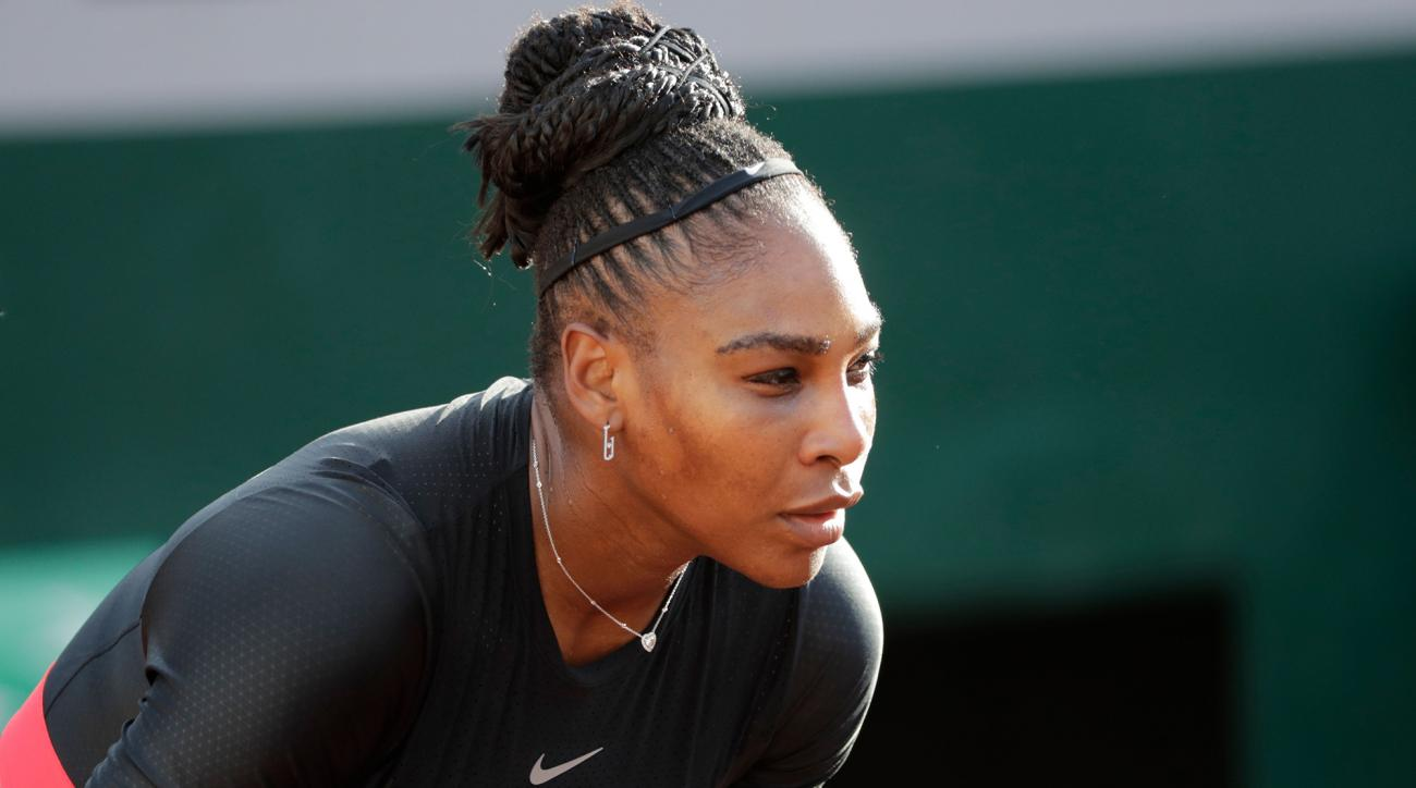 Serena Williams withdraw french open arm injury maria sharapova