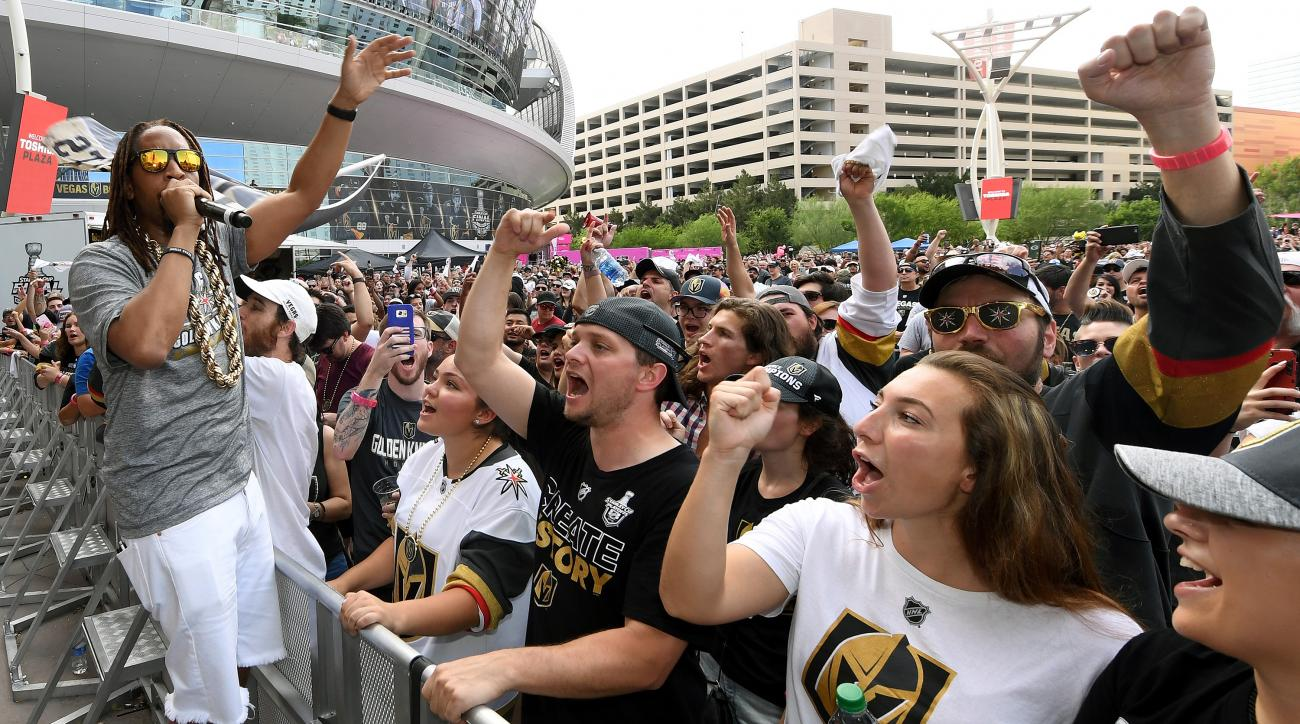 Vegas Golden Knights Host Official Road Game Watch Party For Game Three Of Stanley Cup Final