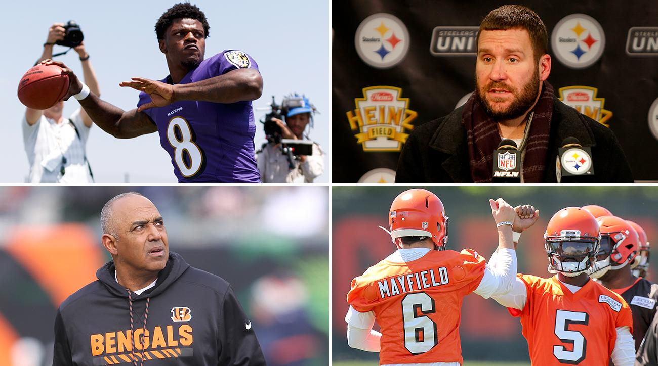 a3f24258a66 AFC North Offseason Report Cards: Browns on the Rise, Steelers Vulnerable,  Marvin on the Brink, Lamar Jackson Is the X-Factor