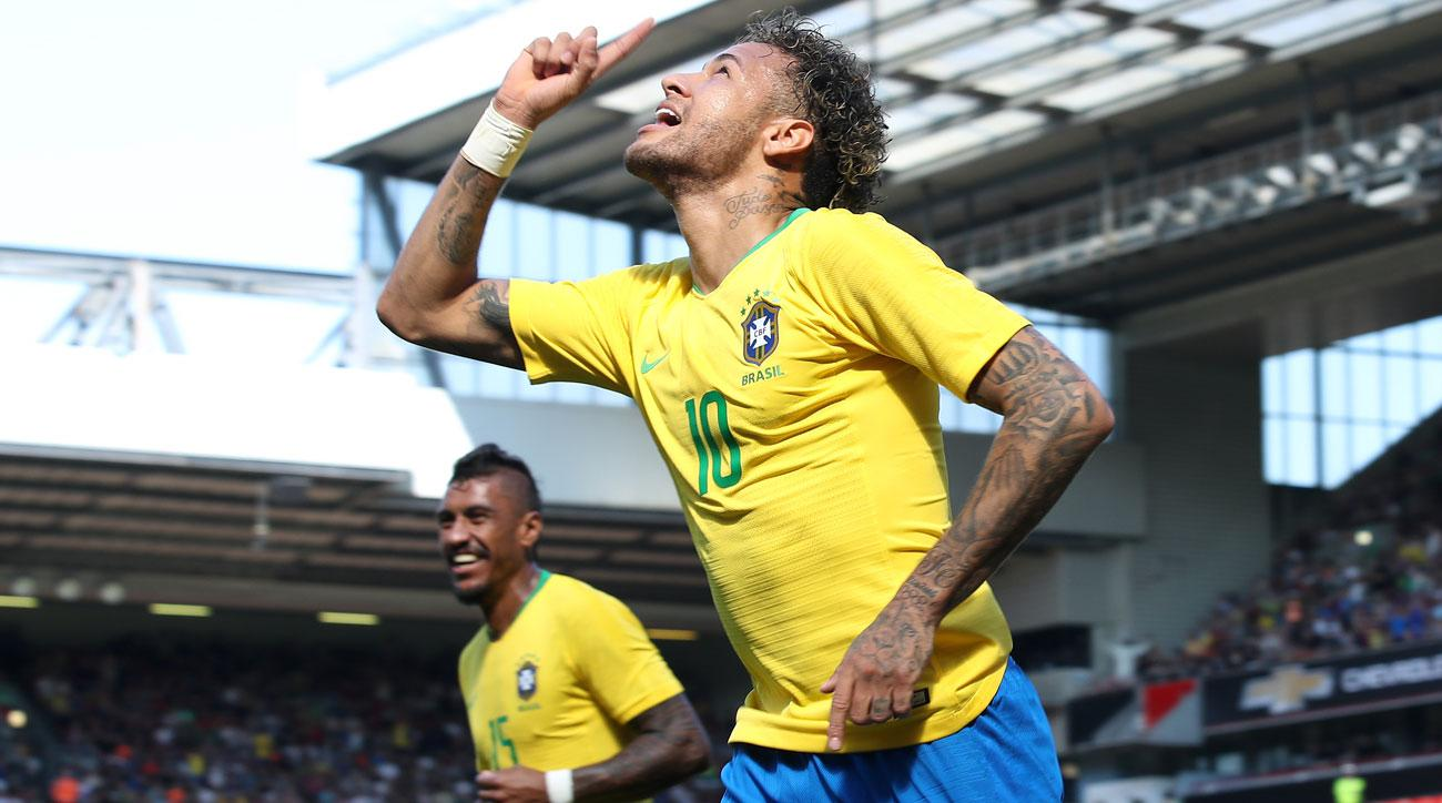 Neymar is back for Brazil in time for the World Cup