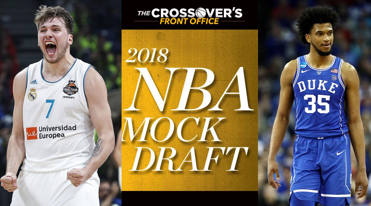 145d547e223f NBA Mock Draft 2018  Kings pass on Doncic