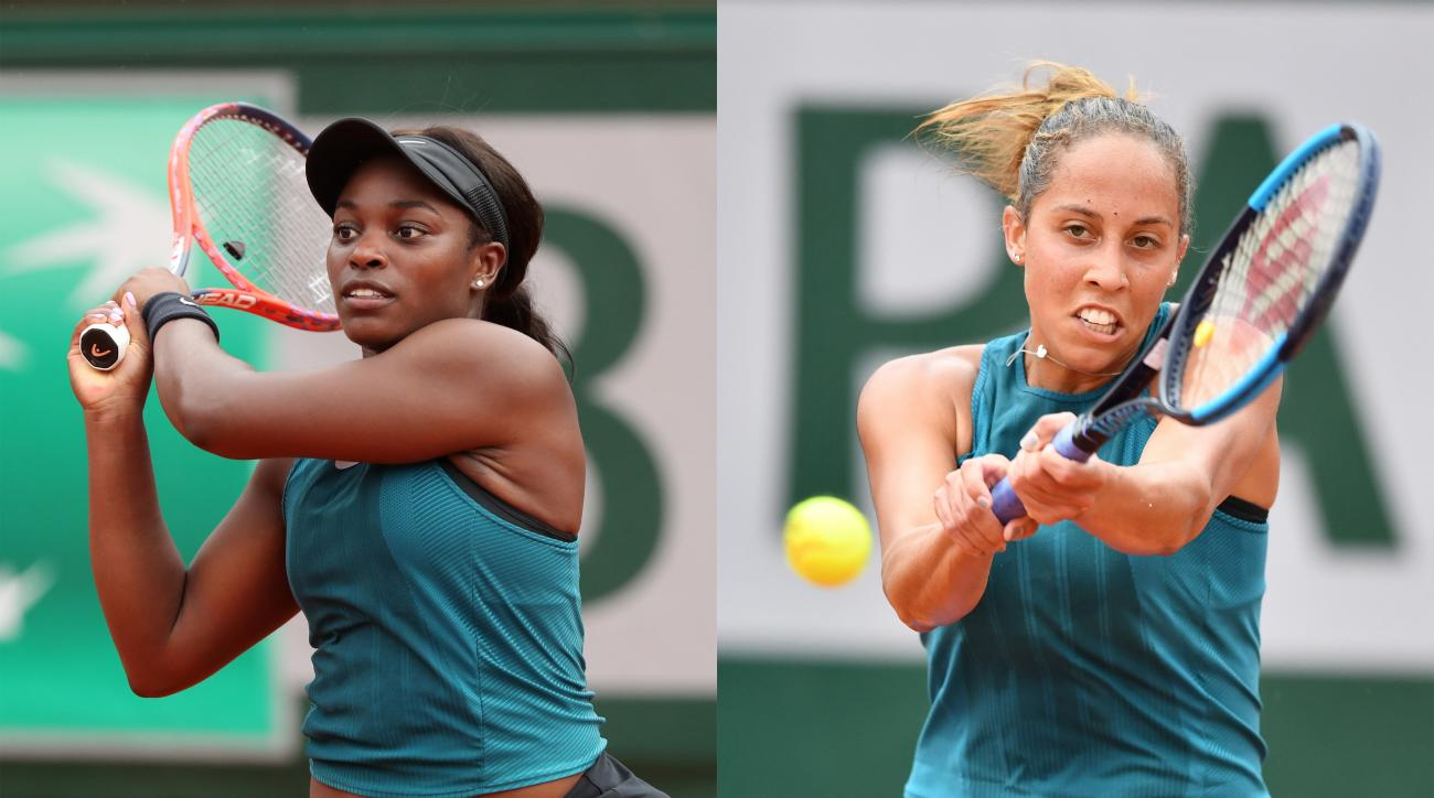 Madison Keys Sloane Stephens French Open semifinal Roland Garros