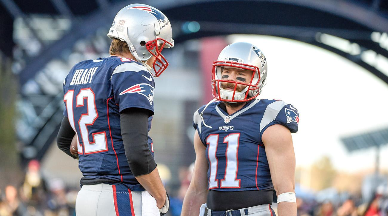 Julian Edelman, Tom Brady