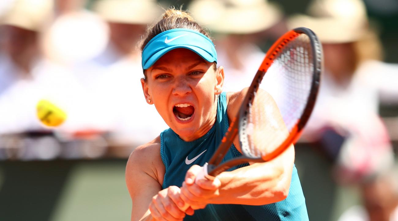 Simona Halep Sloane Stephens french open final