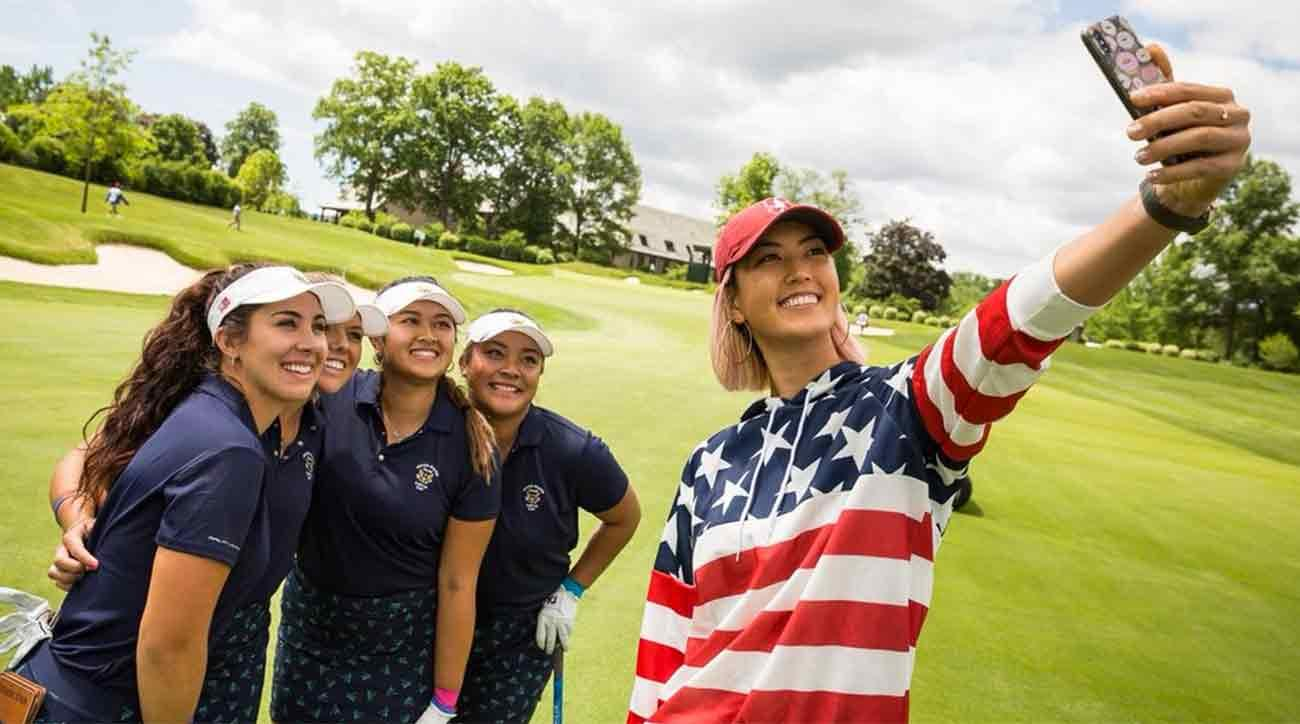 Michelle Wie surprises U.S. Curtis Cup team | Golf.com