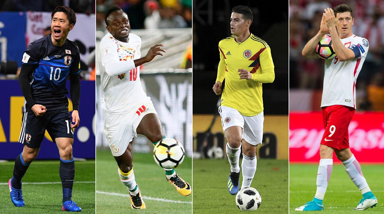f051311d5 2018 World Cup Group H Preview  Attacking Stars Should Decide Tight Race