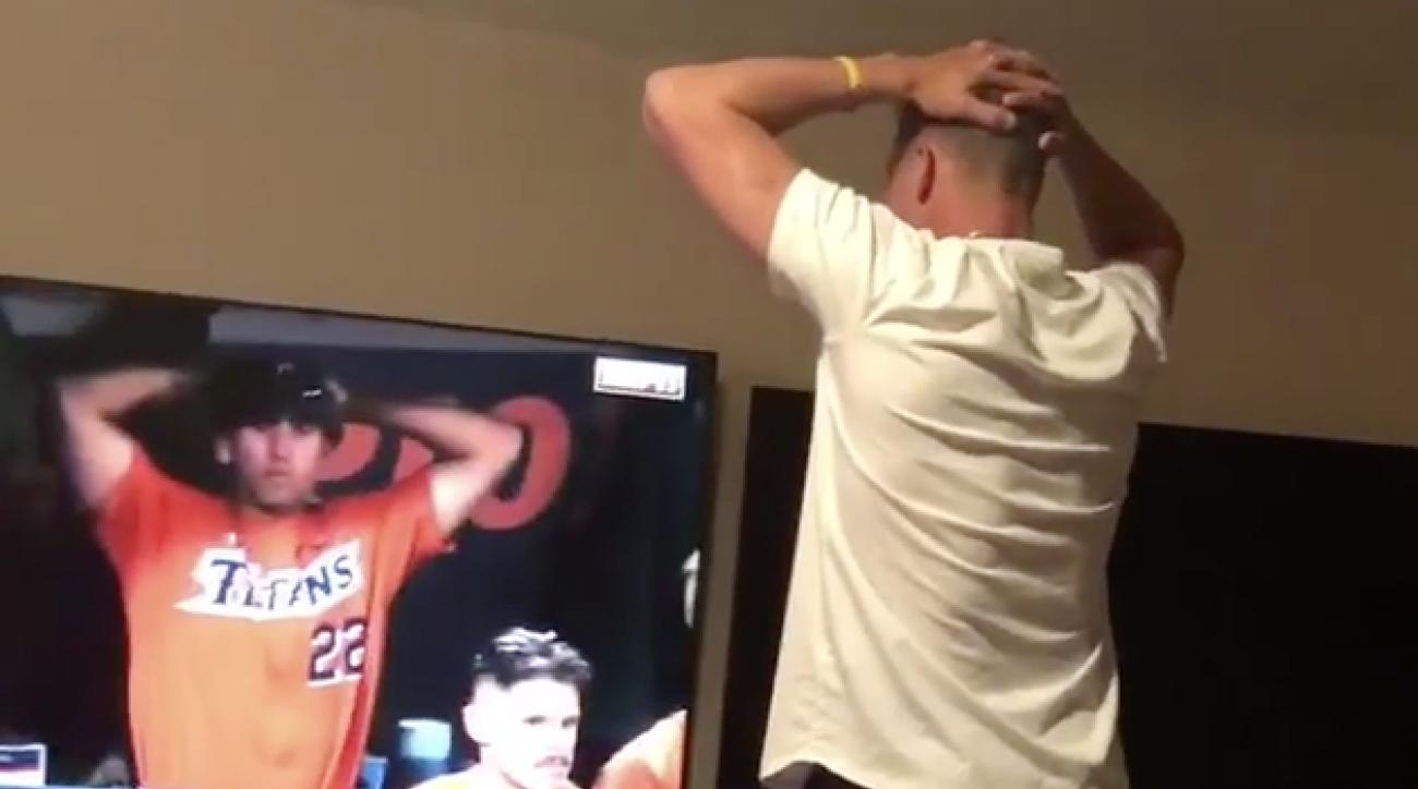 College World Series: Jake Lamb watches Washington (video)