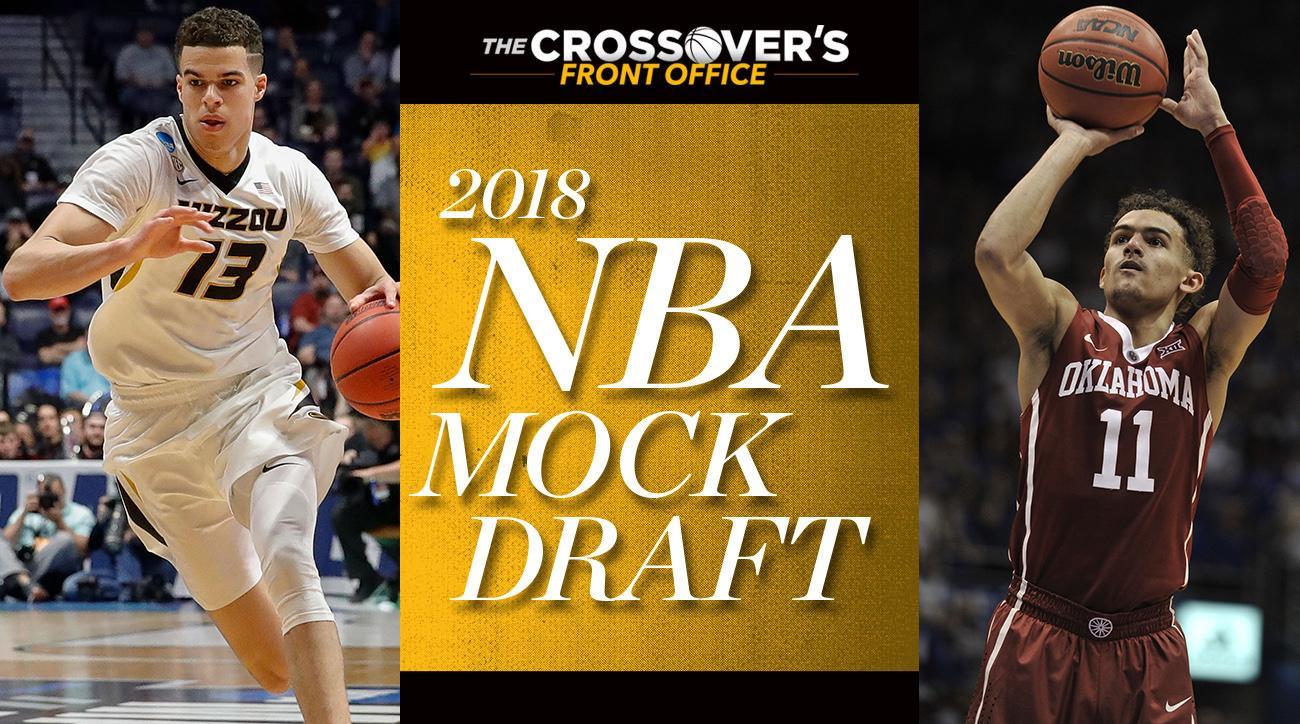 9941031cc NBA Mock Draft 2018  Trae Young