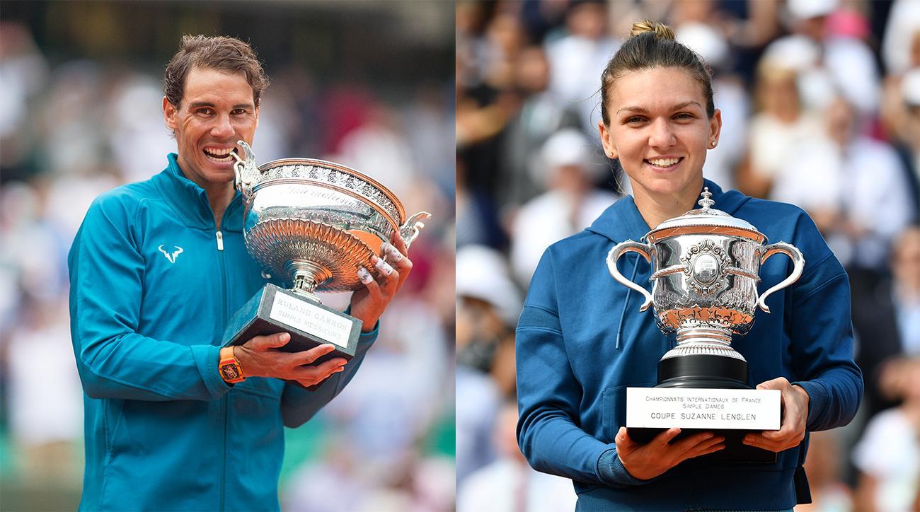 Simona Halep Rafael Nadal French Open Roland Garros