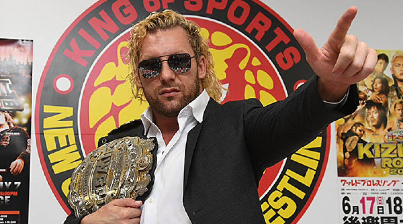 Image result for kenny omega IWGP world champion promo