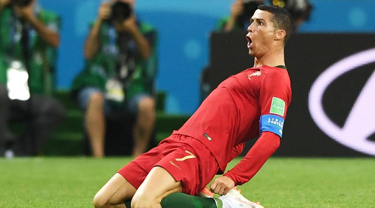 WATCH  Cristiano Ronaldo Free Kick Seals Hat Trick 09eed4909fea4