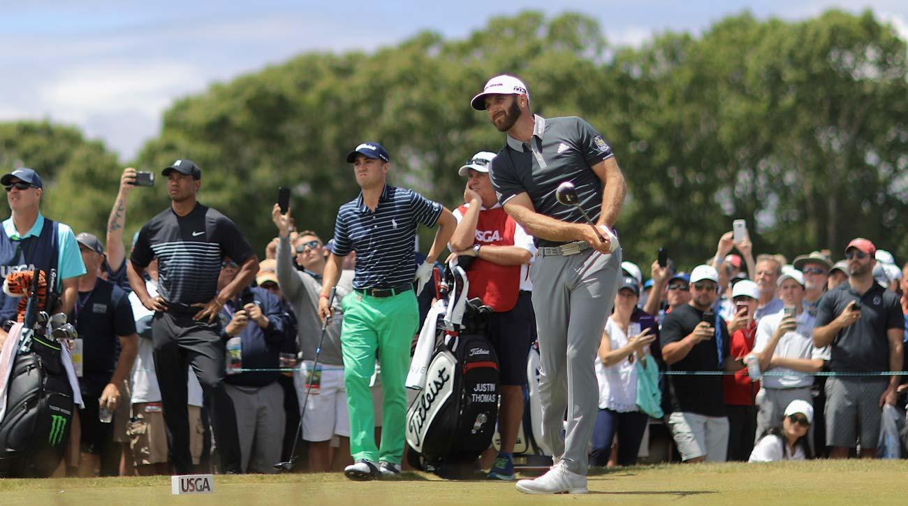 US Open third round tee times 2018