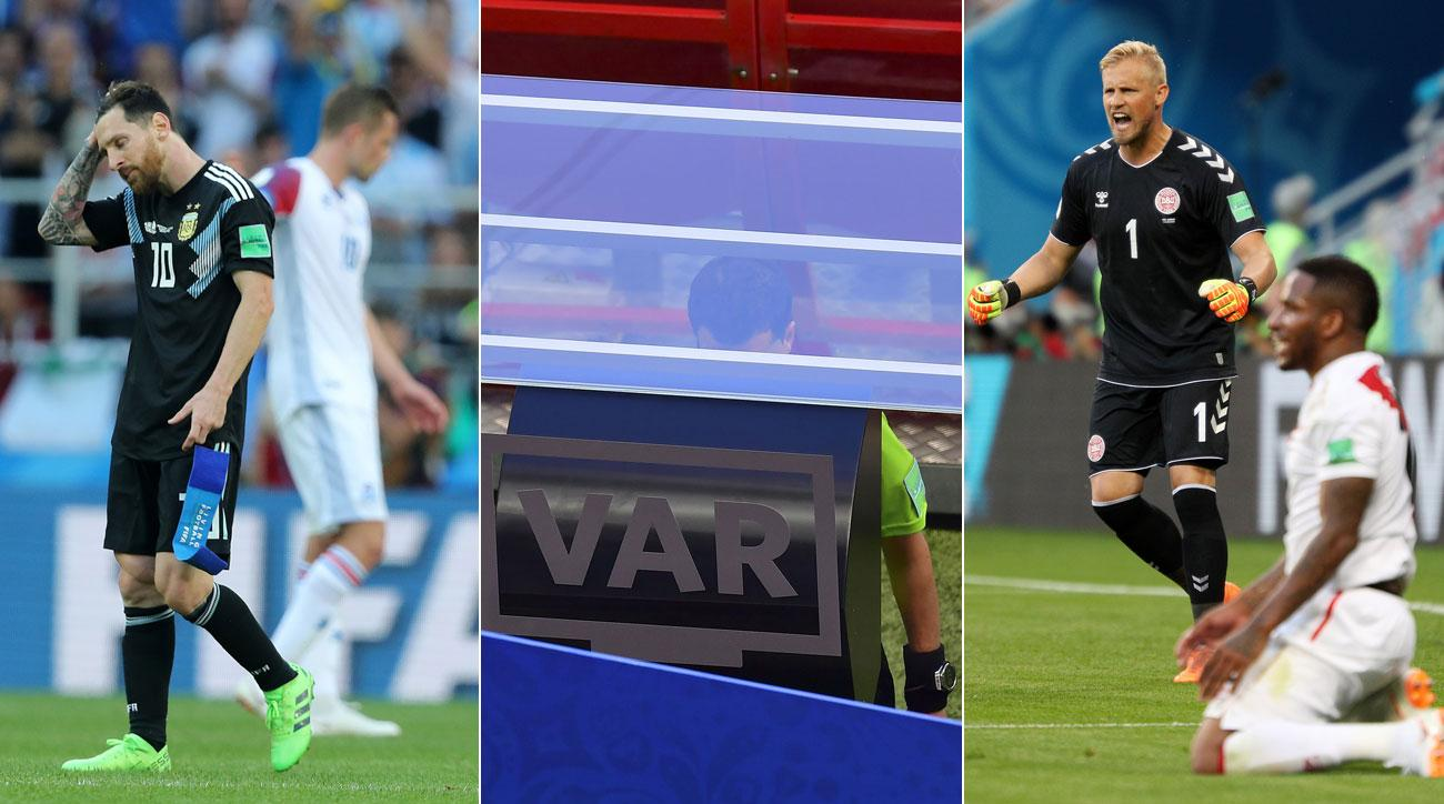 Lionel Messi, VAR and Denmark were among the talking points of World Cup Day 3