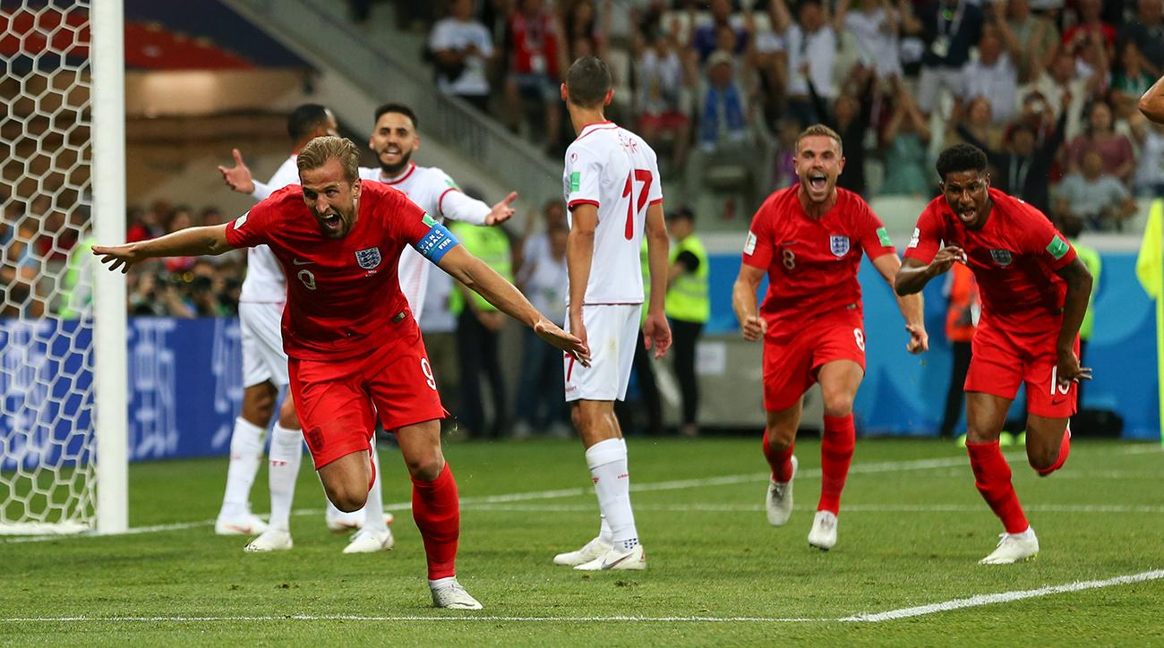 England off to winning start as Harry Kane plays hero vs. Tunisia
