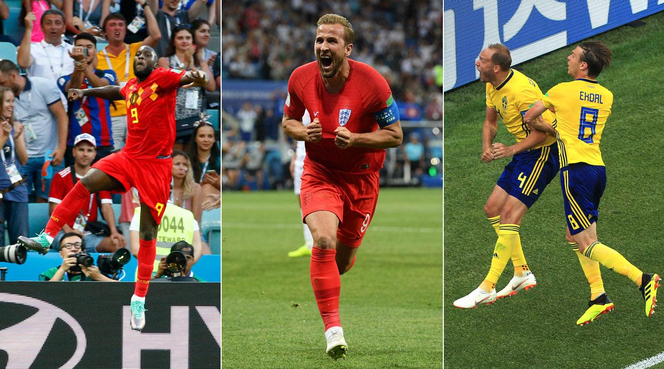 Harry Kane, Romelu Lukaku and Andreas Granqvist scored big goals in the World Cup on Day 5