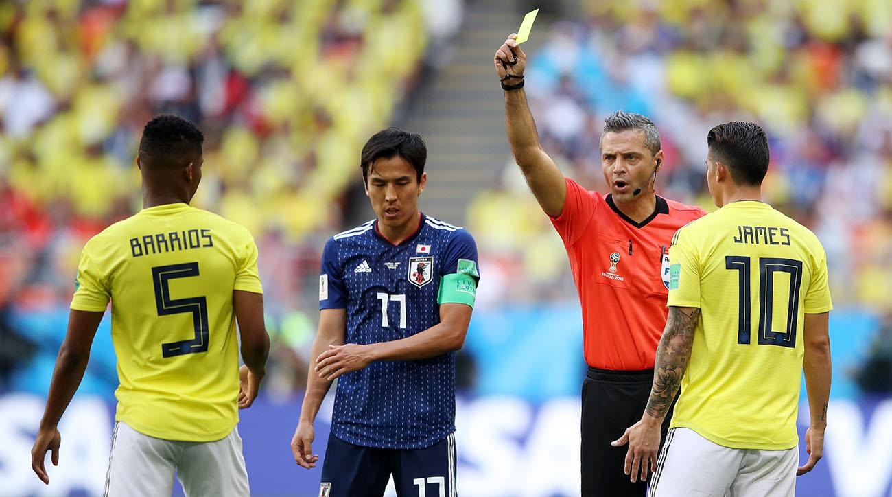 Yellow card rules 2018 World Cup: How does accumulation work? | SI com
