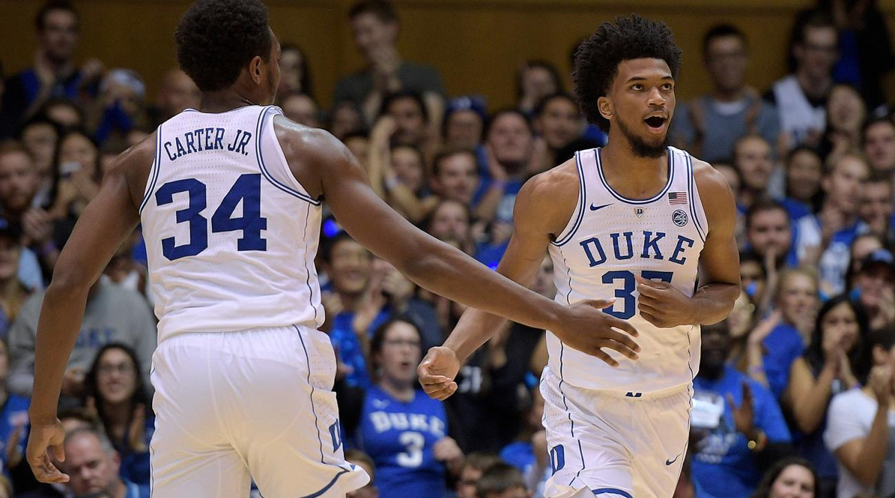Wendell Carter and Marvin Bagley
