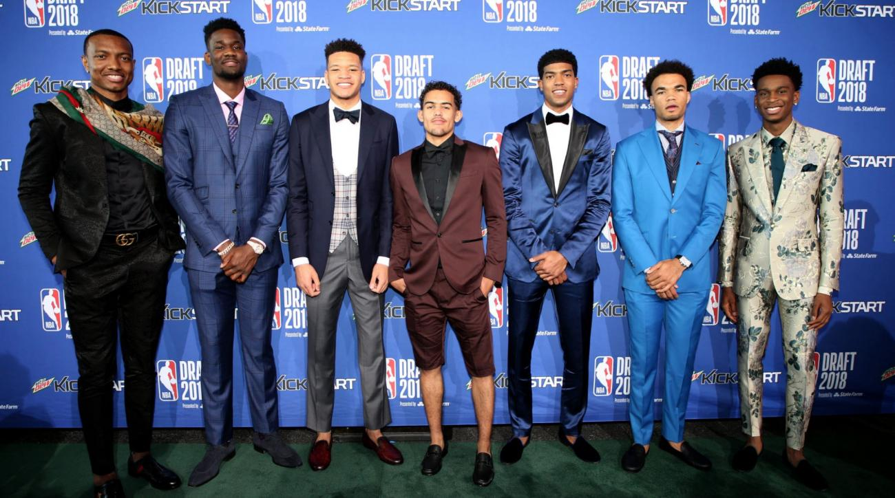 2018 NBA draft outfits