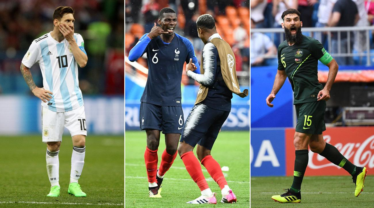 Argentina lost, France won and Australia tied in Day 8 at the World Cup