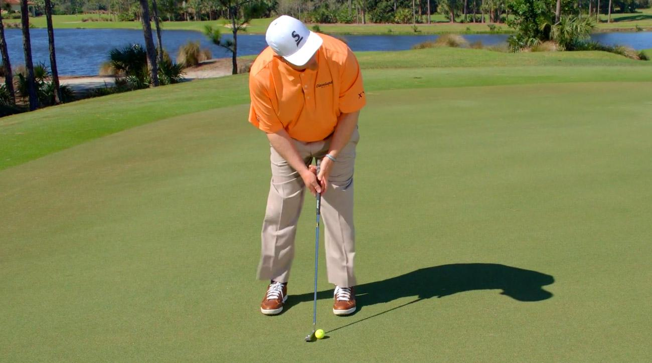 Read greens without thinking in golf