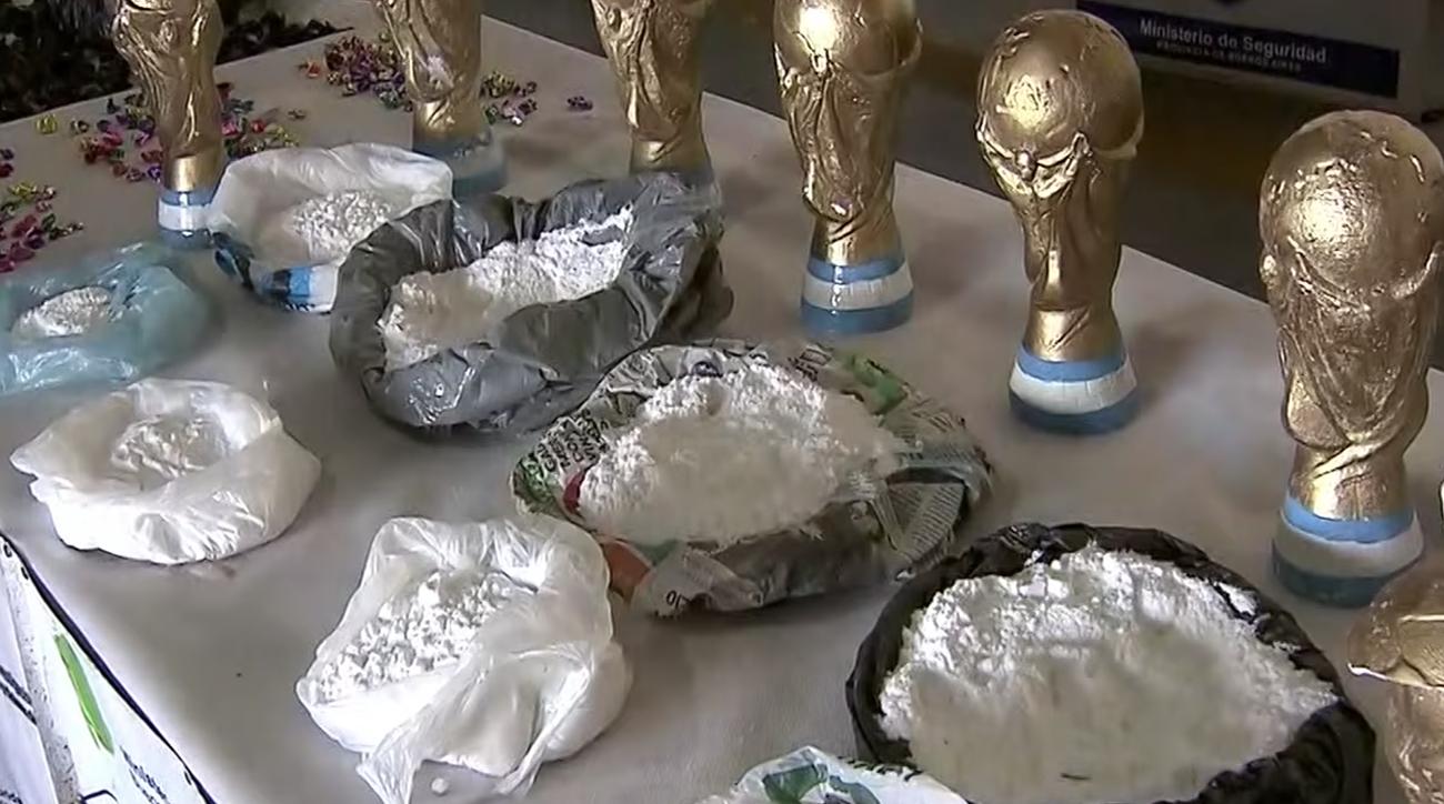 argentina, Cocaine World Cup Trophy Replicas, world cup, 2018 world cup, russia world cup