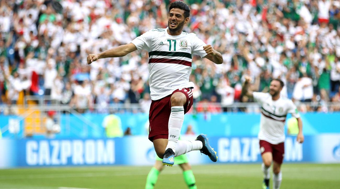 Carlos Vela scores for Mexico vs. South Korea at World Cup