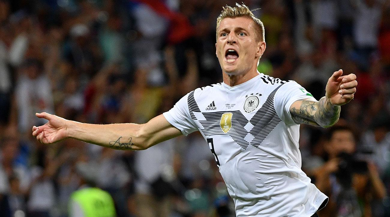 Image result for pic of toni kroos in germany color