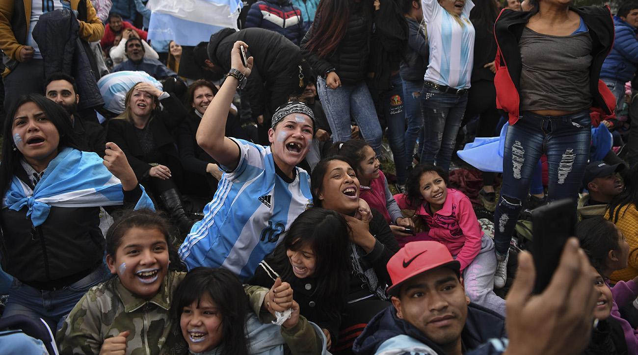 argentina Fans, argentina nigeria, argentina, buenos aires, Marcos Rojo goal, marcos rojo