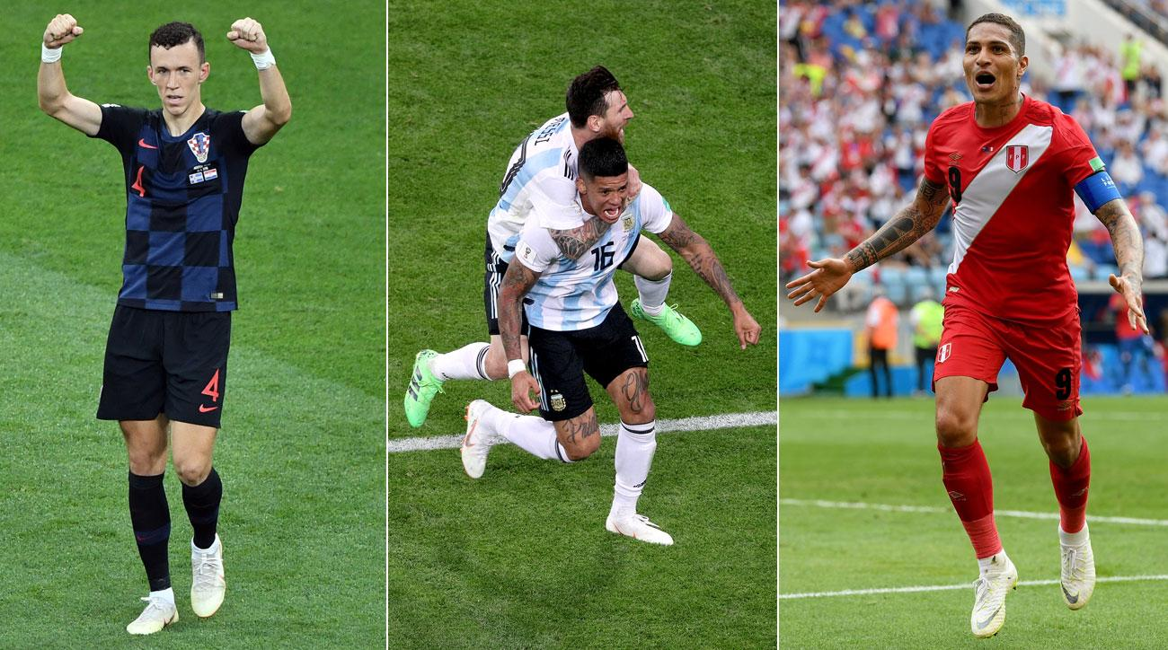 Croatia, Argentina and Peru all won at the World Cup