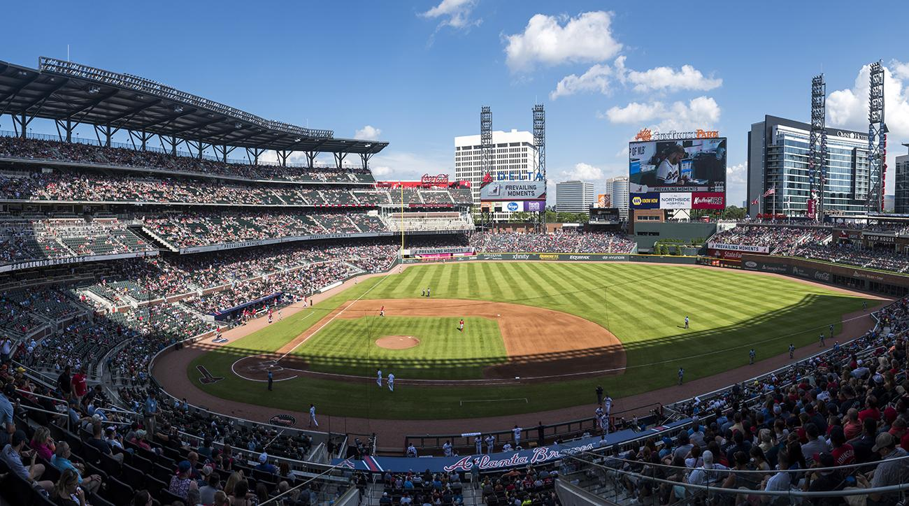braves, Suntrust Park, atlanta, atlanta braves, body found Suntrust Park