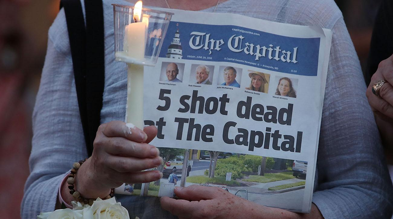 bill belichick, patriots, Capital Gazette, Annapolis, Capital Gazette shooting