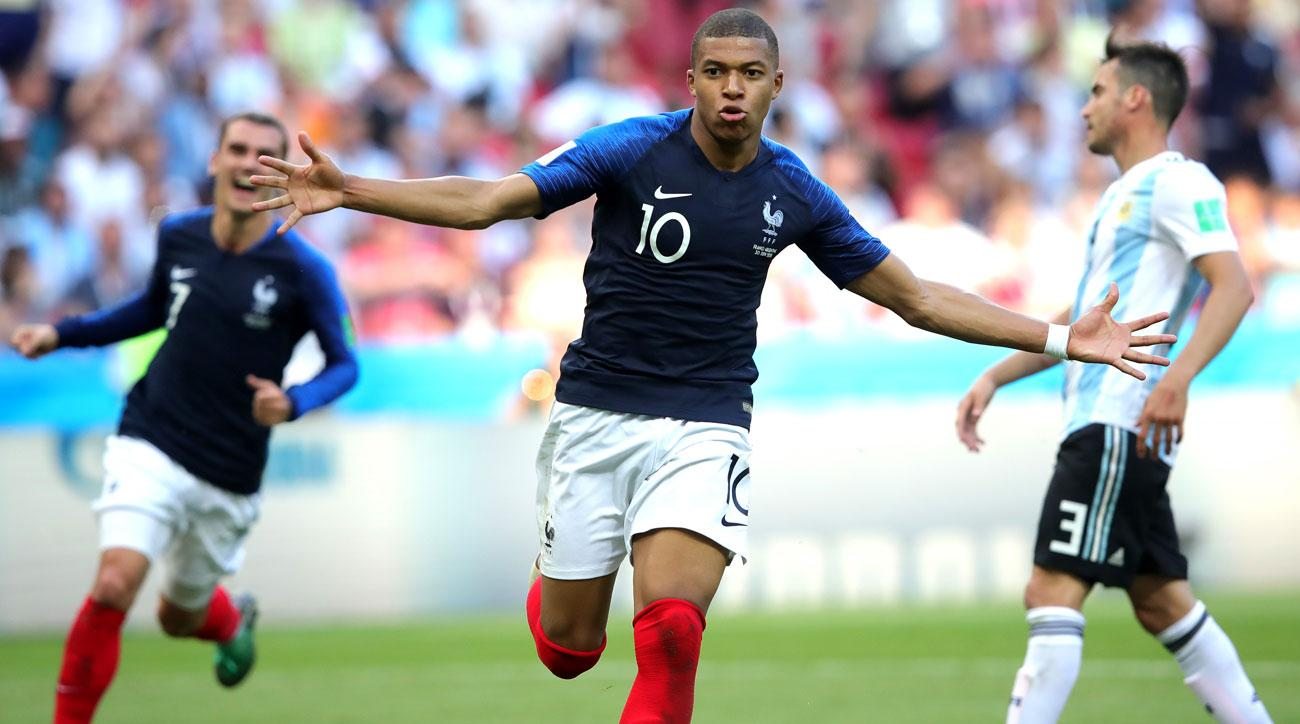 cheap for discount c9b2d c1ceb Kylian Mbappe: France star confirms he's world-class vs ...