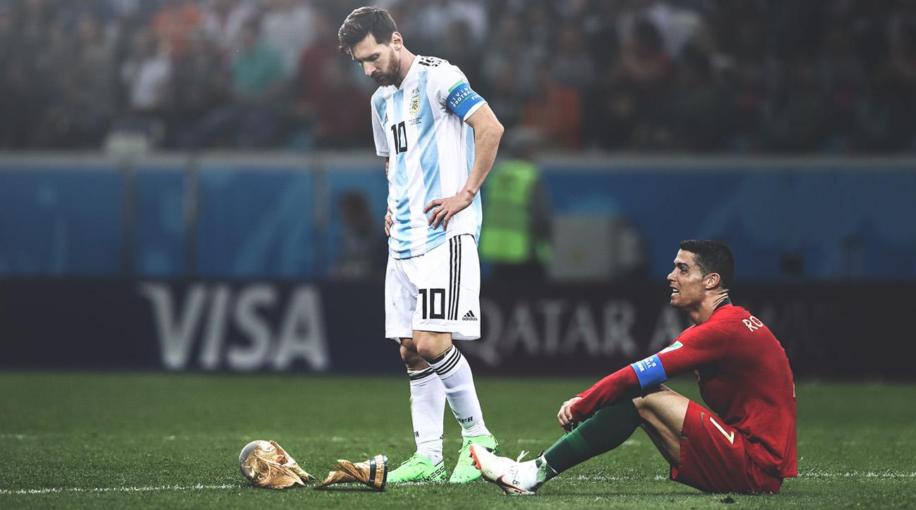 Lionel Messi and Cristiano Ronaldo both had their nations eliminated from the World Cup