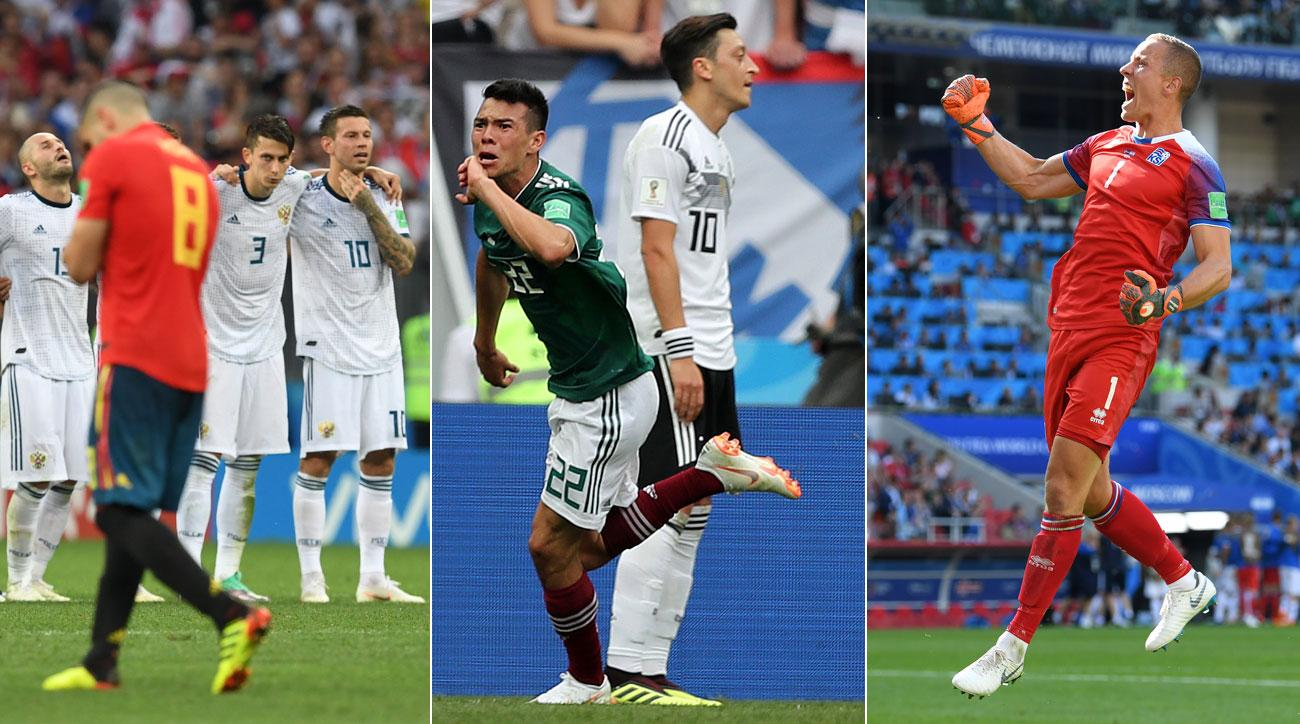 Russia, Mexico and Iceland have provided some of the best moments of this World Cup