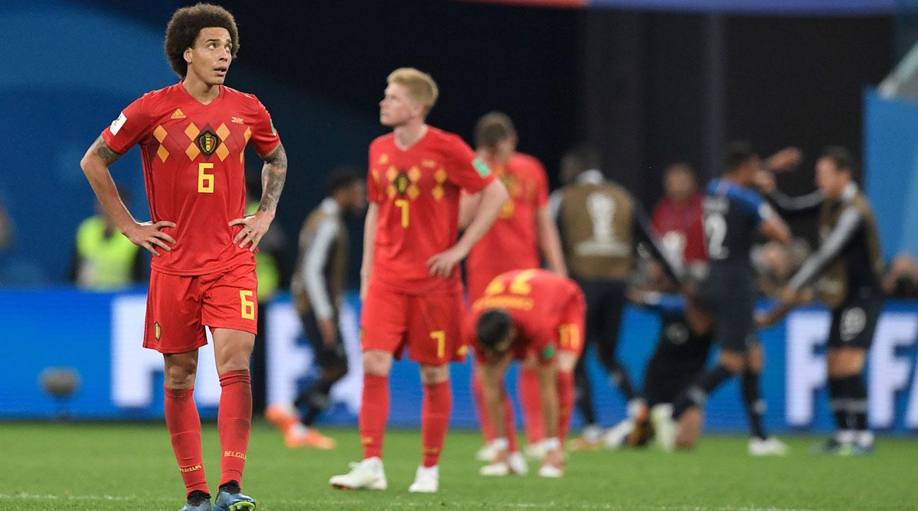 Belgium loses to France in the World Cup semifinals