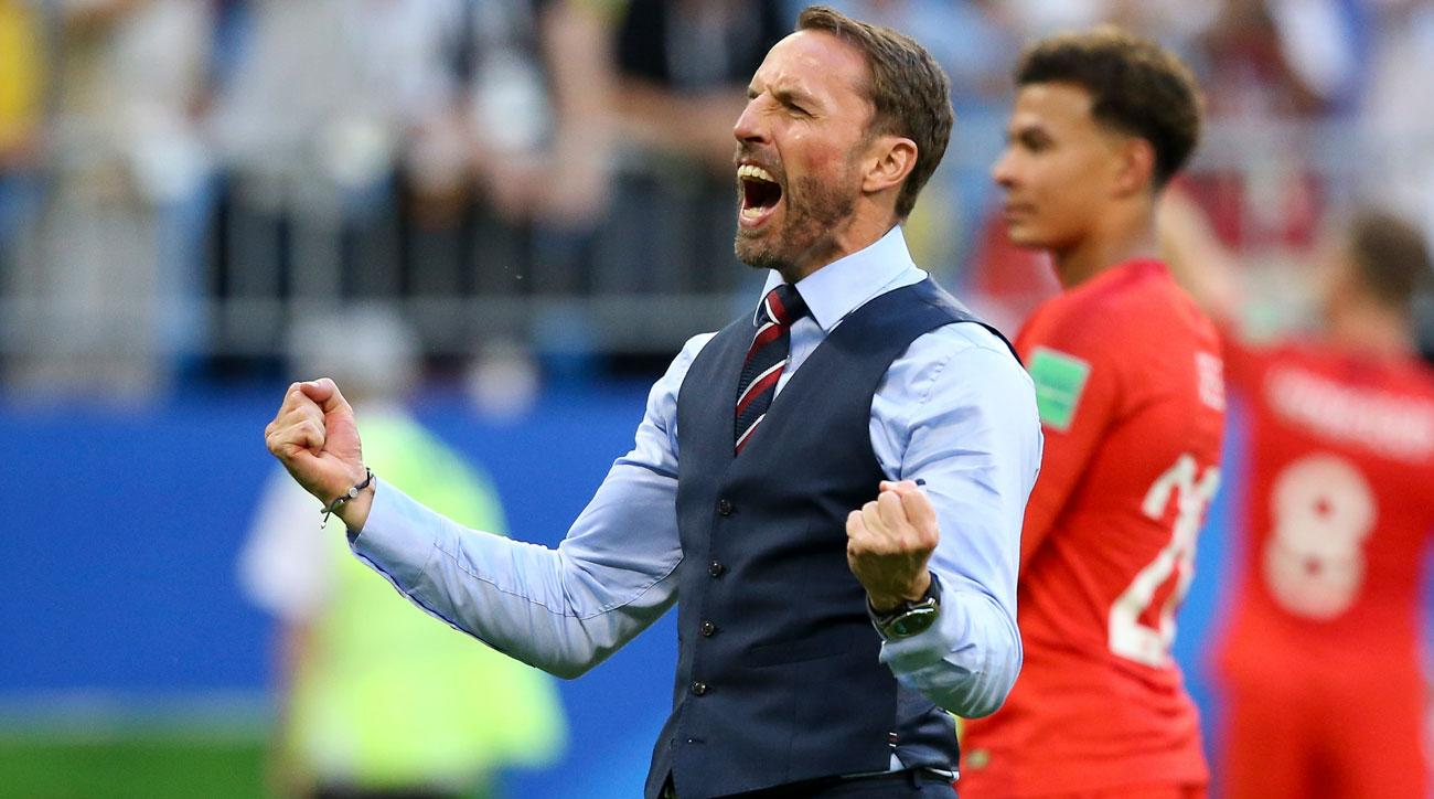 Gareth Southgate has managed England to the World Cup semifinals