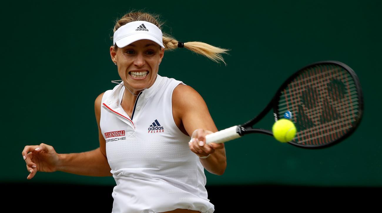 Angelique Kerber Wimbledon semifinals daria kasatkina