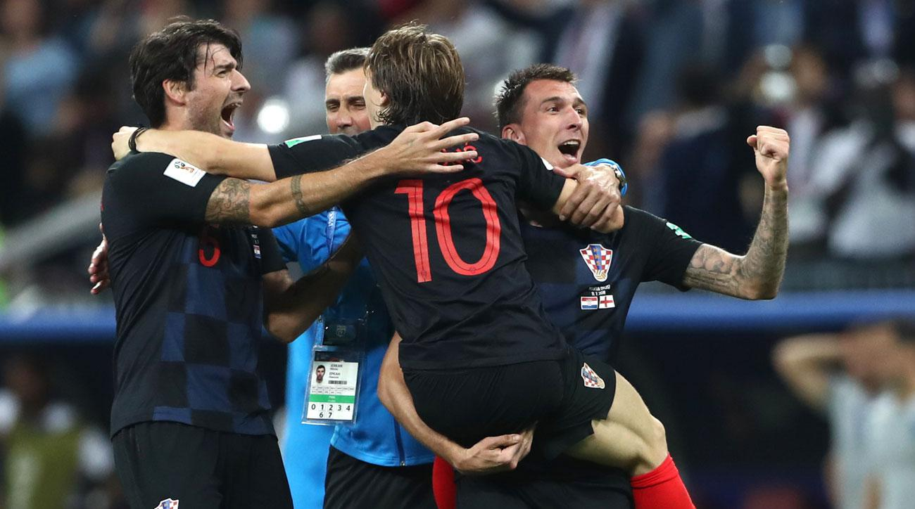 Croatia beats England to reach the World Cup final